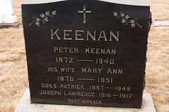 IMG_0108 (Landandwater.ca) Tags: novascotia keenan maryann grave tombstone inverness