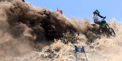 Near the finish line (maytag97) Tags: maytag97 nikon d750 tamron 150 600 150600 motorbike motorcycle racer race compete dirt fast sport hillclimb hill climb dust grass power bike dirtbike