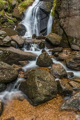 Burn O'Vat (robinta) Tags: rock waterfall falls landscape longexposure ngc canon 1855isstm blur movement rocks nature stream river water