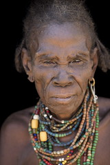 Remember tomorrow (alfienero) Tags: dassanech tribe old woman sight severe
