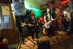 DSC_0070 (richardclarkephotos) Tags: tim bish joey luca © richard clarke photos derellas three horseshoes bradford avon wiltshire uk lone sharks guitar bass drums guitarist drummer bassist band bands live music punk