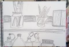 Was werden wir wollen (raumoberbayern) Tags: graphit graphite sketch sketchbook skizzenbuch drawing naturemorte stillife stilleben robbbilder