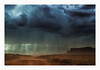 A sudden gust of wind (philippe*) Tags: stormy sky clouds road dust wind weather monumentvalley landscape nature dramatic arizona