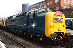 Class 55: 55009 D9009 Bury Bolton Street ELR (emdjt42) Tags: deltic d9009 55009 bury class55 eastlancsrailway