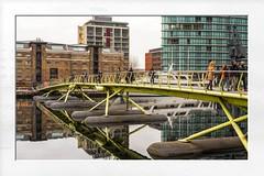 West India Quay Footbridge (5Cantonas) Tags: londonlandmarks alanbathamimages westindiaquay canarywharf londonstreets