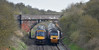 Cross country meeting (Trev 'Big T' Hurley) Tags: 170397 43306 unit hst turbostar portway crosscountry