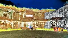 India - Ellora Caves - Cave 16 - 105bb (asienman) Tags: india maharashtra elloracaves asienmanphotography asienmanphotoart kailasa cave16