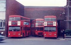 1985 Brixton Garage OJD362R (togetherthroughlife) Tags: 1985 brixton busgarage streathamhill ojd362r ojd430r wlt467 109 133 dms2362 dms2430 rm467 bus