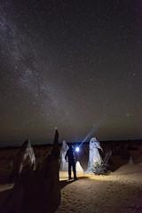 Stars (Steve Paxton WA) Tags: rocks sand stars longexposure shadows light milkyway nightshots nightsky