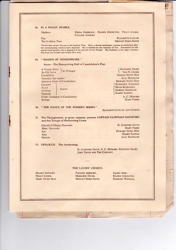 1931: Jan Programme 5.