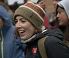 Happy To Be There (Scott 97006) Tags: woman face smile happy parade march