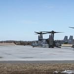 "Latvijā ierodas ASV gaisa kuģi ""CV-22 Osprey"" thumbnail"