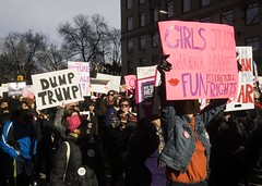 DSC07416_ep (Eric.Parker) Tags: jan202018 womens march inauguration anniversary nyc newyork manhattan sixth avenue pink pussy hat protest activism trump antitrump provote