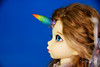 Commissioned rainbow unicorn horn YOSD (AnnaZu) Tags: unicorn horn bjdhorn yosd rainbow littlefee
