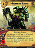 Apoka The Laughing God Galvax the Bloated (Conquest Cards DB) Tags: army unique chaos touched nurgle loyal