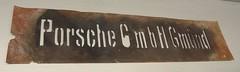 PORSCHE GmbH GMÜND (hmboo Electrician and Adventurer) Tags: porschegmbhgmünd schablone vintage porsche gmünd austria östreich