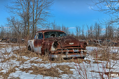 1954 Chevy 210 (Abandoned Rurex World.) Tags: automobile abandonné abandon hdr 2018 urban urbex rurex mga explored abandoned car lost place old vintage decay derelict ue exploration urbaine canon 1022mm 70d forgotten 1954 chevy chevrolet 210