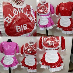 Naughty bib that can be used on her 2 pvc dresses #pvc #pvcdress #sissy #dirtysissy (Ready2Role) Tags: ifttt instagram