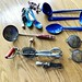 Lot kitchen utensils