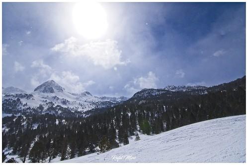 Vistes tornant cap a l'estació d'esquí