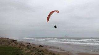 Paragliding - Donmouth Aberdeen Scotland - 11/4/2018