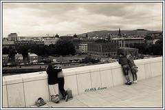 Oslo, mon amour (mariadoloresacero) Tags: ilca68 sony sonyilca68 terraza jeune men hommes hombres women femmes mujeres couples parejas personnes personas vues views vistas norway norvège noruega oslo