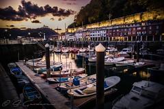 DSC_0499 (SGarderes) Tags: sailing puerto port donostia sansebastian sunset longexposure espana spain