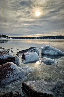 Icy rocks, Norway