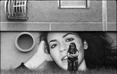 anger (Arpadkoos) Tags: anger taker kodak 400tx trix400 blackandwhite blackwhite monochrome child woman balcony kmz kmzstart start