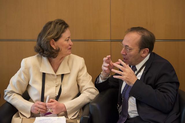 Mary Crass and Ricardo J. Sánchez discuss