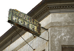 Travelers Hotel (Clay Fraser) Tags: miami arizona abandoned sign travelershotel fujifilm xpro2 xf1855mm pinconnected