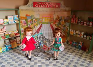 Twins Go Shopping