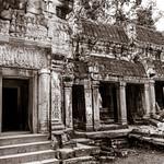 Ancient Ruins of Ta Phrom - Angkor Cambodia thumbnail