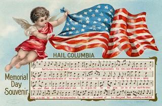 Memorial Day Souvenir—Hail Columbia