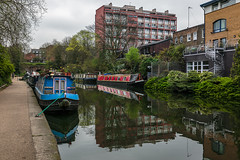 Canal stroll (PhredKH) Tags: canonphotography cityscene fredkh houseboats london londontown photosbyphredkh phredkh regentscanal splendid trees urban cityoflondon clouds outdoorphotography reflections river riverbank scenicwater sky towpath water 2470mm ef2470mmf4lisusm canoneos5dmarkiii