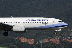 B-18662 China Airlines Boeing 737-800, SungShan Taipei (ColinParker777) Tags: b18662 boeing 737 738 737800 737ng china airlines airline airways cal ci dynasty airliner aircraft airplane aeroplane aviation flying flight fly landing finals approach fuselage windows tsa rcss taipei sung shan sungshan taiwan canon 5d 5d3 5dmk3 5dmkiii 5diii 200400 l lens pro zoom telephoto