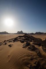 In the desert (__Alex___) Tags: jordan wadi rum désert desert nature trek travel view sable dunes ombres jordanie discover marche walk canon 5d markiii 1635f4is raw paysage sun flare rayon soleil