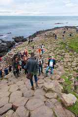 Giant's Causeway with Michelle 5 (Dr_Moriarty) Tags: 2017 europe giantscauseway ireland northernireland vacation