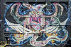 """Jersey City - Street Art - """"Anatomy of the Empires Eagle"""", Lord Nychos (highly perspective-corrected) (David Pirmann) Tags: nj newjersey jerseycity streetart mural nychos lordnychos"""