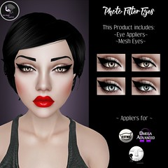 .:IM:. Photo Filter Eyes (Inevitable Madness) Tags: inevitablemadness secondlife sl cosmetics twisted hunt prize eyes