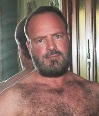 fierce beard (bodybuildingeric07) Tags: beard hairychest chesthair hairy handsome