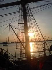 Tall Ship Sunset Liverpool (terencepkirk) Tags: tall ships ship merseyside mersey liverpool water river albert maritime sunset