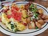 Breakfast for Dinner (canadianlookin) Tags: breakfast scramble tomato basil hashbrowns eggs ihop