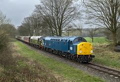 40012 40013 (Geoff Griffiths Doncaster) Tags: 4001240013 40012 40013 d212 d213 212 213 class 40 east lancs railway elr summerseat