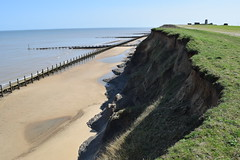 DSC_0306 (.Martin.) Tags: happisburgh coast norfolk sea seaside beach coastal erosion cliff cliffs cley sand rock