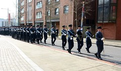 RAF 100th Anniversary Parade held in Swansea (2 of 7) (goweravig) Tags: raf regiment swansea wales uk 100th anniversary parade march colourparty freedomofthecity princessway