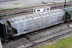 CB&Q Class LO-8A 184576 (Chuck Zeiler) Tags: cbq class lo8a 184576 burlington railroad covered hopper freight car cicero train chuckzeiler chz