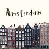 Damrak houses (donlope1) Tags: city amsterdam ville architecture holland houses typo damrak