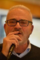 Marco Capponi, la voce cantante della serata