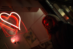 Neon Dreams (Ollie Morris) Tags: olliemorris leadbetter74 portrait recentwork neon neonheart red heart